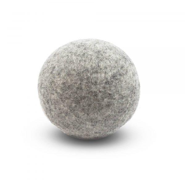 Boule de séchage grise - assouplissant naturel