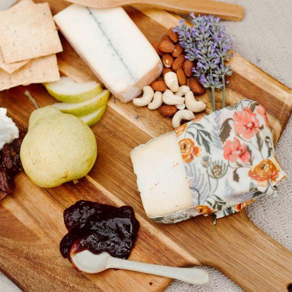 emballage alimentaire écologique avec du fromage