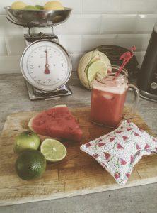 recette de smoothie pastèque melon et citron vert