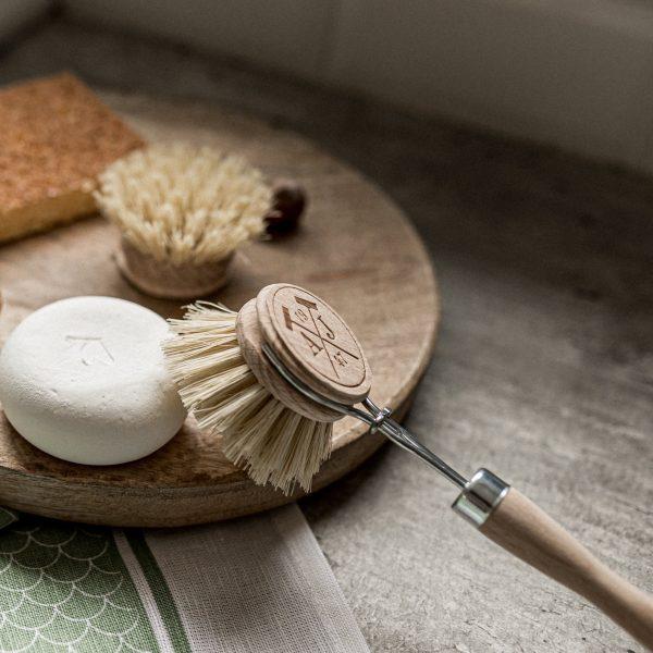 brosse à vaisselle naturelle et écologique Andrée Jardin